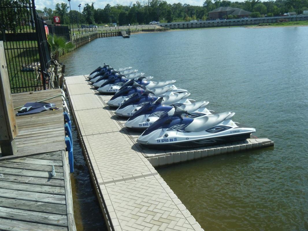 ShorePort Drive-On waverunner or Jetski Port - M&M Dock King