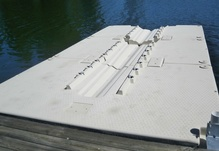 Aluminum Gangways New Jersey, Floating Dock ramps and gangways